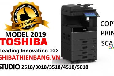 Máy photocopy TOSHIBA E2518/E3018/E3518/E4518 mới nhất năm 2019
